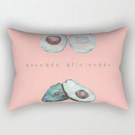 Avocado Aficionado. Rectangular Pillow