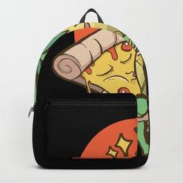 Pineapple Pizza Lover Gift Backpack