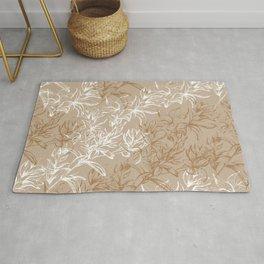 Elegant floral pattern Rug