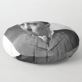 President Theodore Roosevelt Floor Pillow
