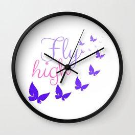 Fly High Wall Clock