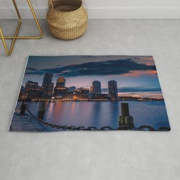 Boston Harbor Rug