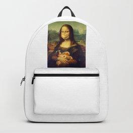 Mona Lisa Stocked Up Backpack
