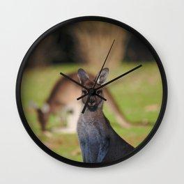 Mundaring Kangaroos Wall Clock