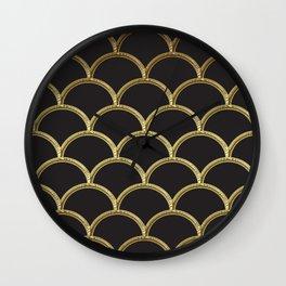 Gatsby deco glam Wall Clock
