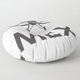 Mexico  airport code Floor Pillow