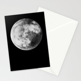 Moon and the Night Sky Stationery Cards