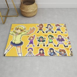 Fresh Pretty cure - Fresh Precure Rug