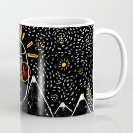 Bike Face (White Tip Mountain) Coffee Mug