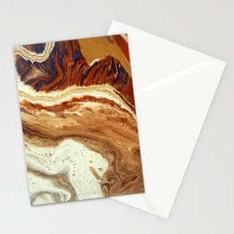 Sand marble Stationery Cards
