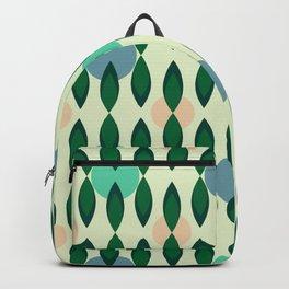 Drapery ceramic tile pattern Backpack