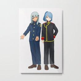 Kazemaru Ichirouta Metal Print