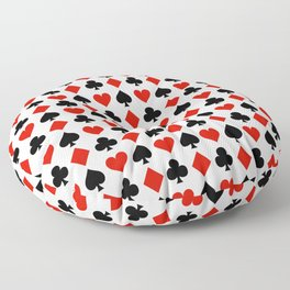 Card Suits Floor Pillow