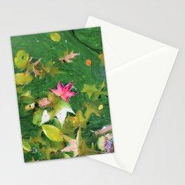Autumn Background Stationery Cards