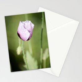 Opium poppy Stationery Cards