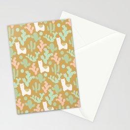 Llamas Stationery Cards