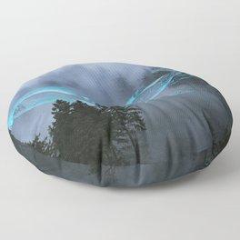Whale Music Floor Pillow