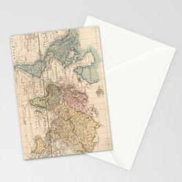 Vintage Map of The World (1823) V.2 Stationery Cards