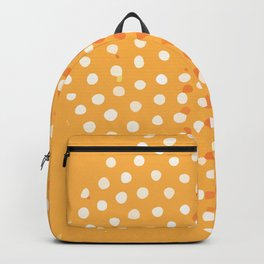 Abstract Modern Contemporary Monochromatic Background in Bright Orange Color GC-118-11 Backpack