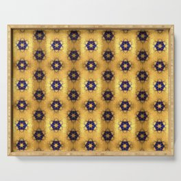 Moroccan Gold 3 Serving Tray