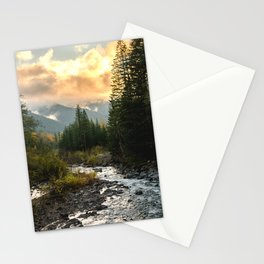 The Sandy River I - nature photography Stationery Cards