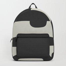 Mid-century minimalist wall art Backpack