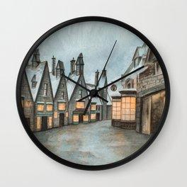 Hogsmeade - Magic Inside Us Wall Clock
