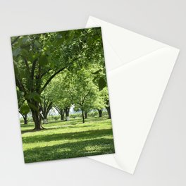 Peach and Pecan Orchard Stationery Cards