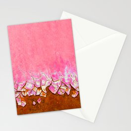Pink and Rust Stationery Cards