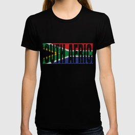South Africa Flag Vintage African National Country Gift T-shirt