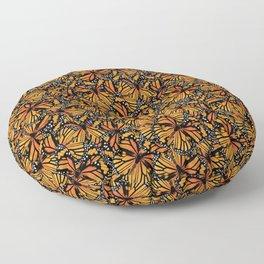 Monarch Butterflies Pattern | Butterfly Pattern | Floor Pillow