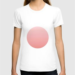 Flag of japan -with color Gradient T-shirt