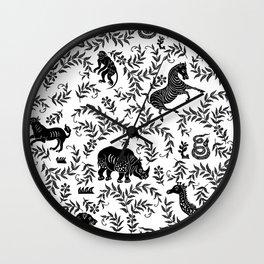 On Safari Wall Clock