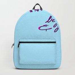 Be generous & grateful Backpack