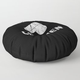 Born to coach sports Floor Pillow