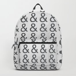 Helvetica Ampersand - Happy National & Day! Backpack