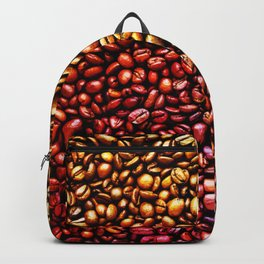 Multicolored Coffee Beans Backpack