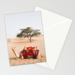Camel in the Thar Desert in Rajasthan, India | Travel Photography | Stationery Cards