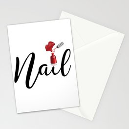 Nail Stationery Cards