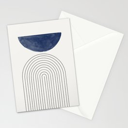 Blue Half Moon Arch Stationery Cards