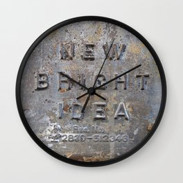 At Odds Wall Clock