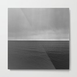 Lake Superior Horizon Metal Print