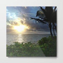Hawaiian Light Metal Print