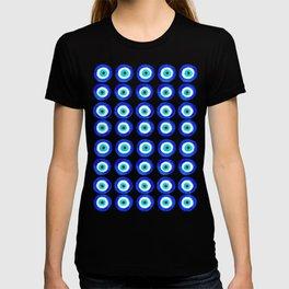Evil Eye Amulet Talisman - on white T-Shirt