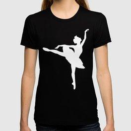 Pink and white Ballerina T-shirt