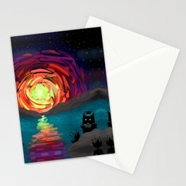 Shadow Tales: March Stationery Cards