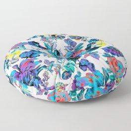 FRACTAL FLORA Floor Pillow