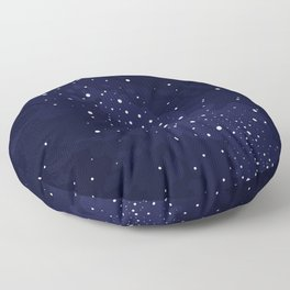 Starry Night Sky Floor Pillow