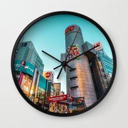 Tokyo 40 Wall Clock