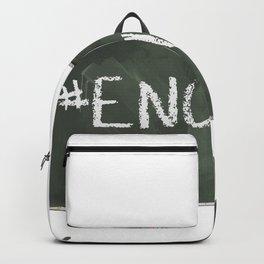 Enough Chalkboard Backpack